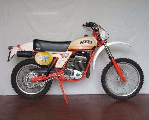 Restauro moto epoca - KTM 250 GS 03